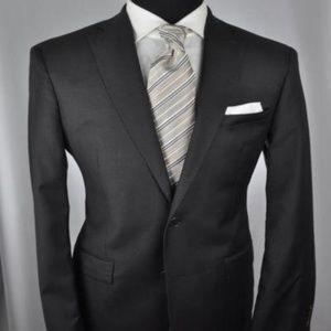 *Recent* John Varvatos Dark Gray Modern 2Btn Suit